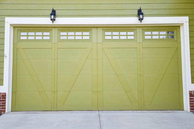 simple detached 2 car garage plans