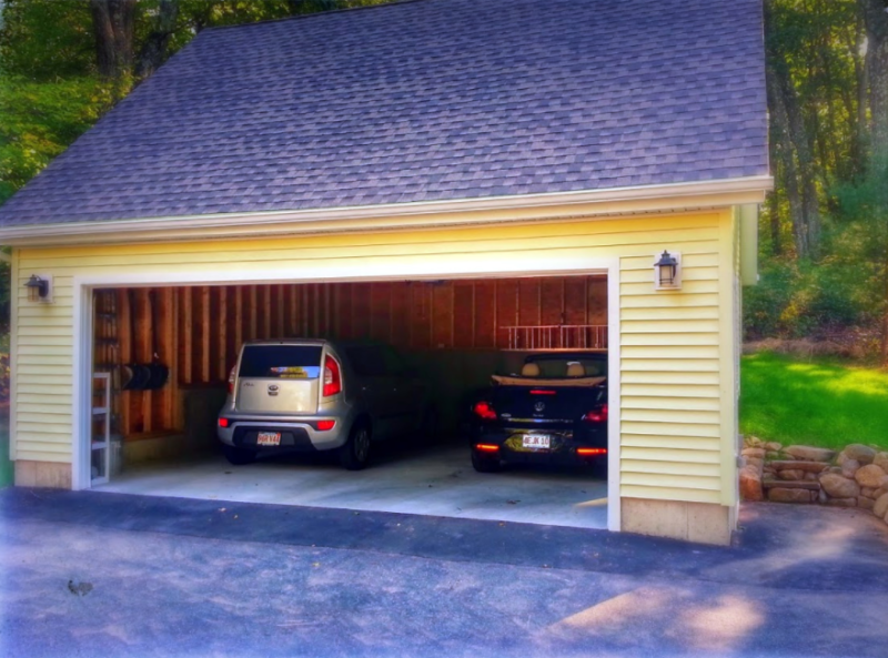 detached garage plans and cost