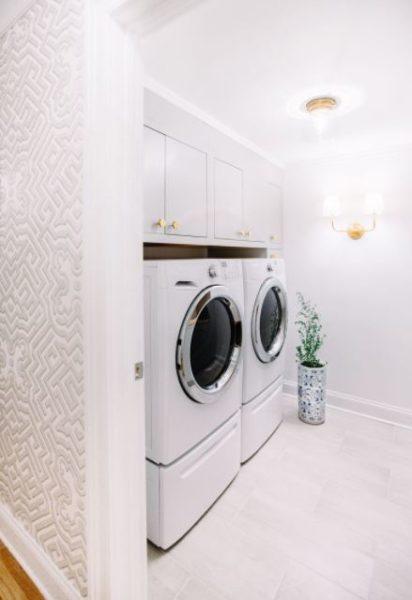 basement laundry utility room