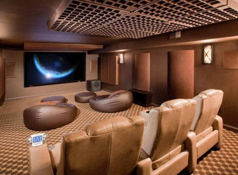 Awesome Basement Home Theater Ideas For Your Room - Basement home theaters ideas