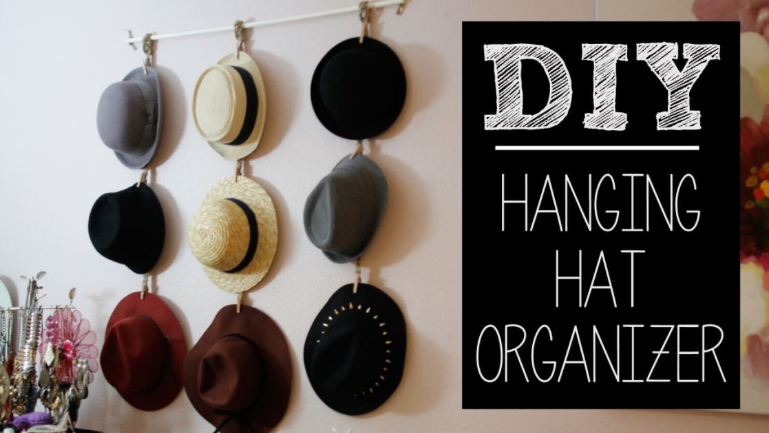 rack so hanging organization are diy clever awesome racks these ideas pin hat home