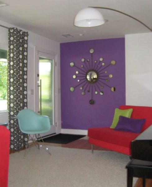 turquoise baby room decor