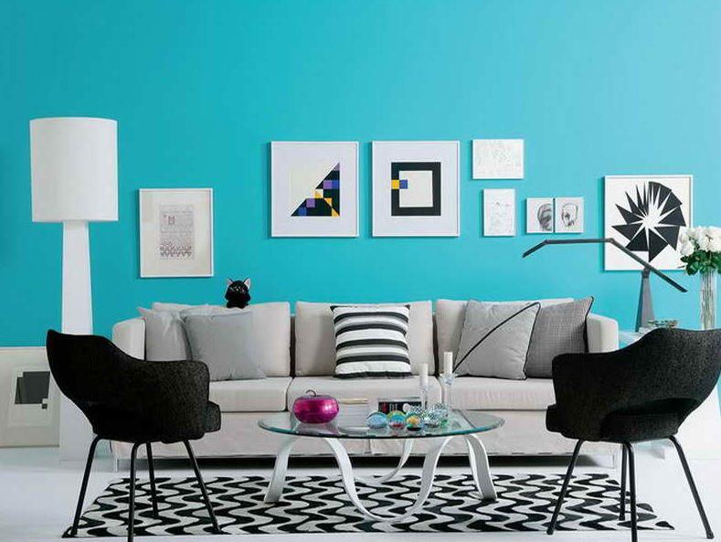 buy turquoise room decor
