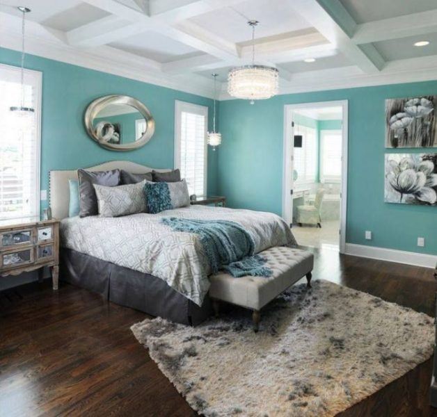 turquoise bedroom decor. turquoise room ideas 20 Unique and Cool Turquoise Room Decorations to Beautify your
