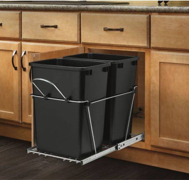 Under Sink Trash Bin Ideas