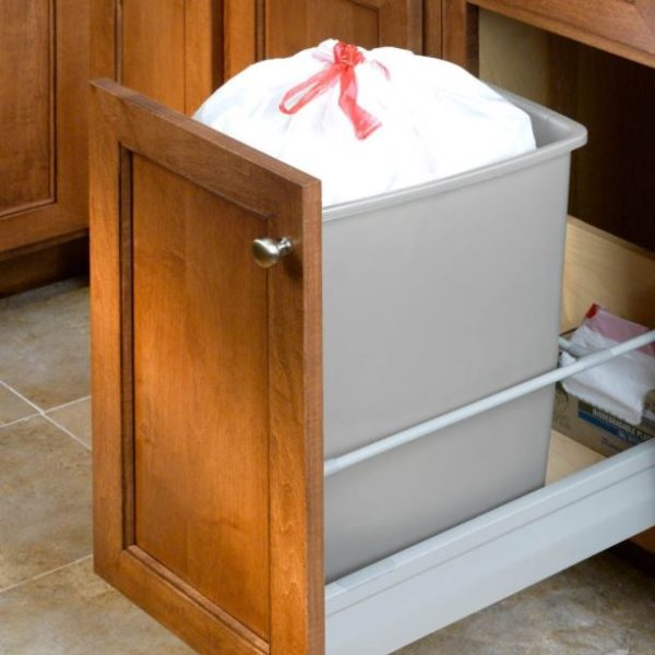 Under Sink Trash Can Glide Concepts