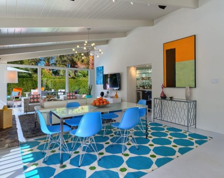 turquoise and red room decor ideas