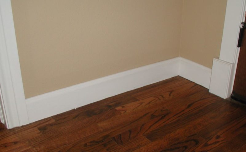 baseboard styles photos