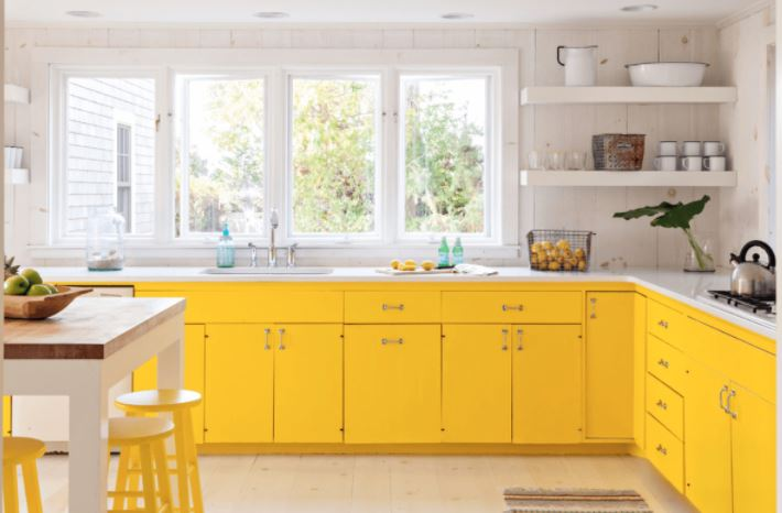 Paint For Kitchen best way to paint kitchen cabinets: a stepstep guide