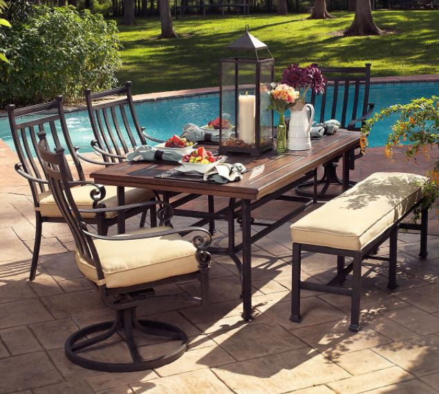 outdoor patio furniture replacement cushions