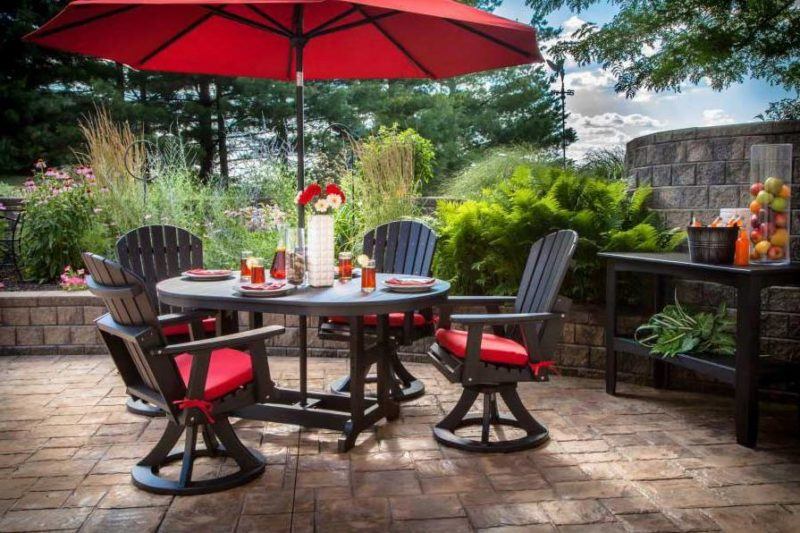 Red Patio Chair 22 awesome outdoor patio furniture options and ideas