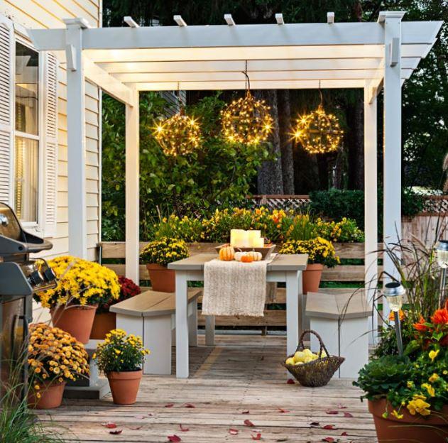 outdoor bistro patio furniture 3-piece