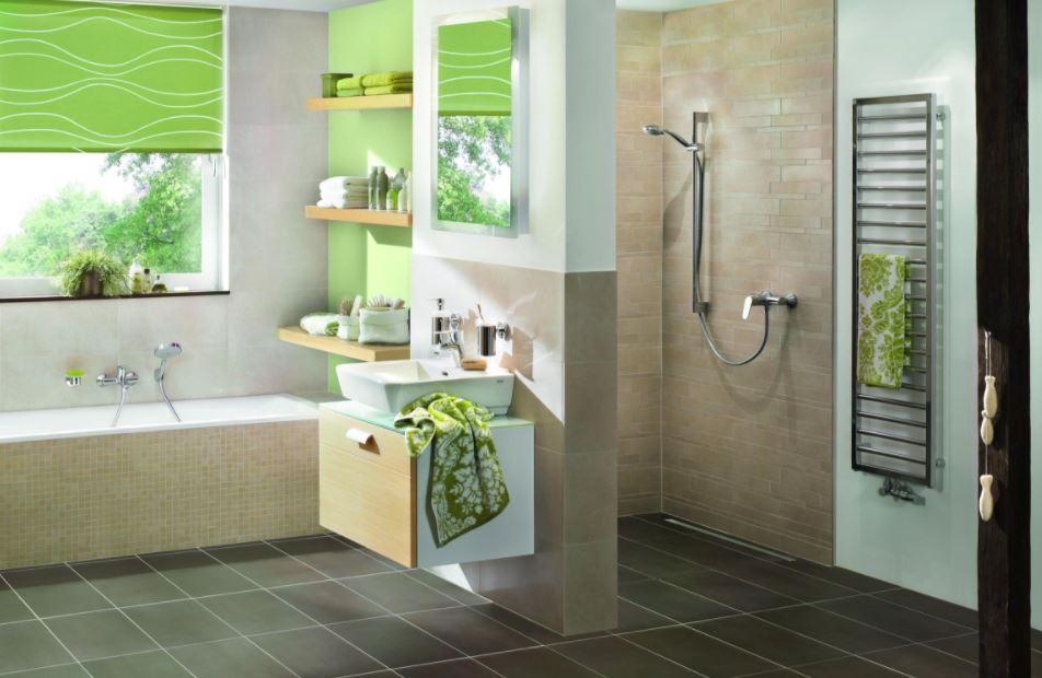 small bathroom with modern decor