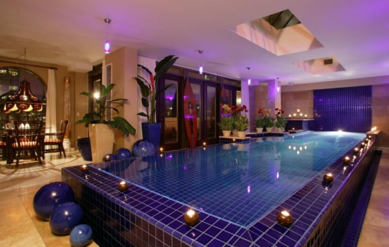 best lighting pool