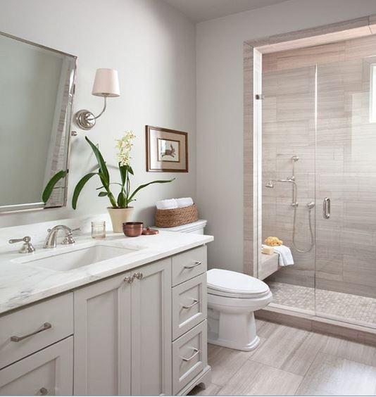 bathroom nature ideas