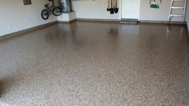garage floor tile ideas