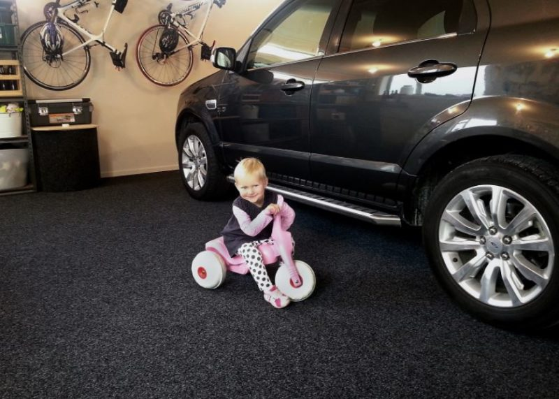 cool garage flooring ideas