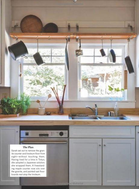 small kitchen bar idea